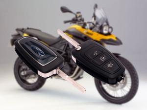 Ключи с чипом для мотоциклов