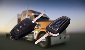 Ключи с чипом для грузовых автомобилей
